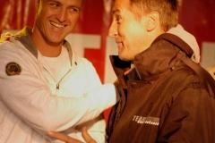 Kartrennen-Ralph-Schumacher-Bernd-Schneider